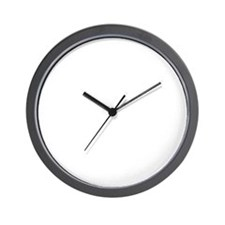 2-brooklyn(blk) Wall Clock