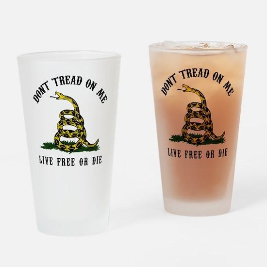 DTOM Apron Drinking Glass