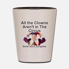 clownsenate Shot Glass