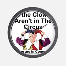 clownsenate Wall Clock