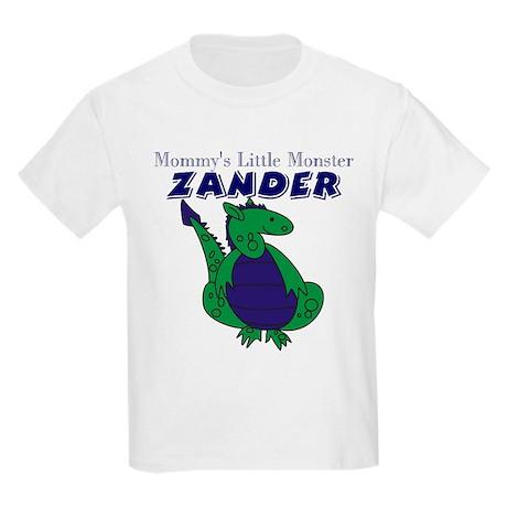 Mommy's Little Monster Zander Kids T-Shirt