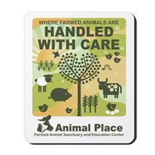 Animal_Place_StickerLARGE Mousepad
