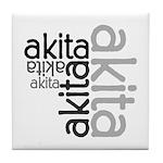 Akita Multi Tile Coaster
