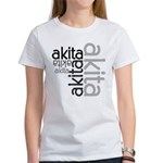Akita Multi Women's T-Shirt