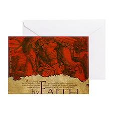 Mousepad_ByFaith_Samson Greeting Card