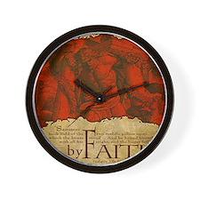 Mousepad_ByFaith_Samson Wall Clock