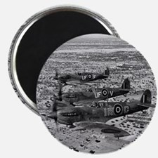 Spitfire Fighters Over Africa, 1943 Magnet