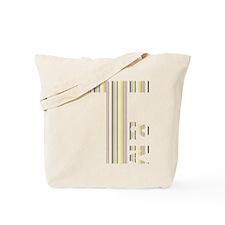 T Logo - Colour Stripes Tote Bag