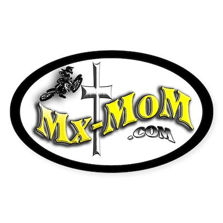 Mx-MoM.com Oval Sticker