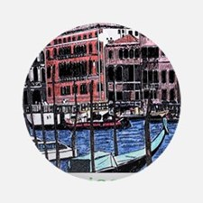 Venice apparel Round Ornament