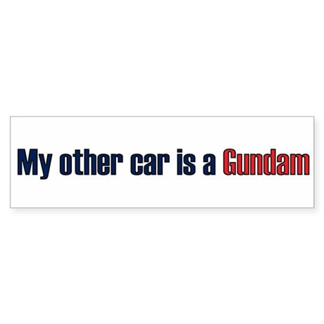 My other car is a Gundam