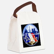 ParisAlways1 A Shirt Canvas Lunch Bag