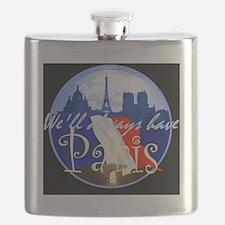 ParisAlways1 A Shirt Flask