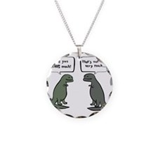 Peace of Pie New TRex Necklace