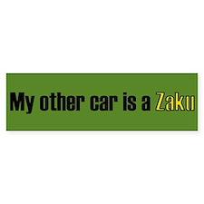 My other car is a Zaku