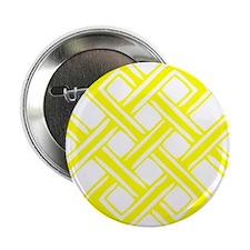 "Endless_Knot_Yellow 2.25"" Button"