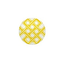 Endless_Knot_Gold Mini Button