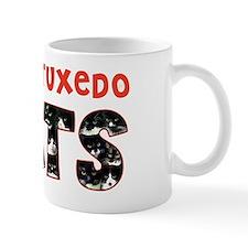 I Love Tuxedo Cats Mug