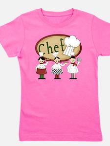 Three Chefs Girl's Tee