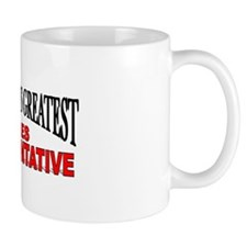 "The World's Greatest Sales Representative"" Mug"