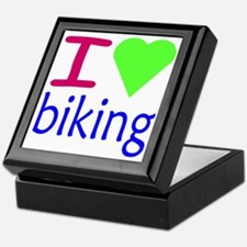 biking Keepsake Box