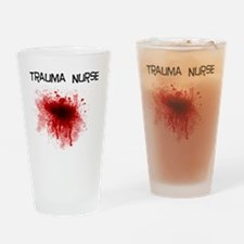 Trauma Nurse Drinking Glass