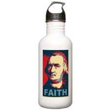 ART Faith large poster Water Bottle