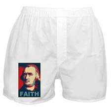 ART Faith large poster Boxer Shorts