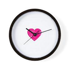 Dharma Love 2 -dk Wall Clock