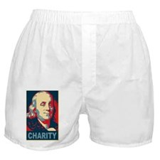 ART Charity large poster Boxer Shorts
