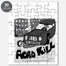 3-Road Kill - We The People 2 Ligh Gray Tex Puzzle