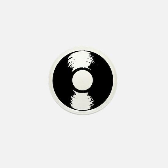Vinyl Mini Button