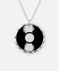 Vinyl Necklace