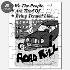 3-Road Kill - We The People 2 Black Text w  Puzzle