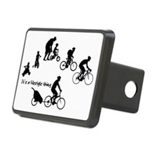 Thru the Ages Cycling Desi Hitch Cover