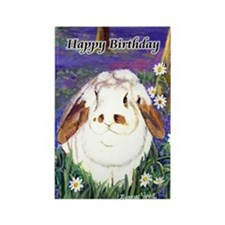 horatiobday55x75cards Rectangle Magnet