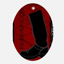 bootblack Oval Ornament