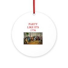 tea party repblican Round Ornament