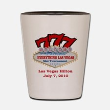 Slot Tournament ELV Shot Glass