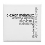 Alaskan Malamute Multi Tile Coaster