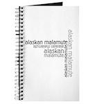 Alaskan Malamute Multi Journal