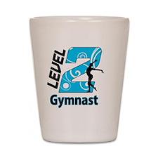 Level_2_Gymnast_Ver1_Blue_bear Shot Glass