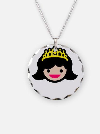 Princess -blk Necklace