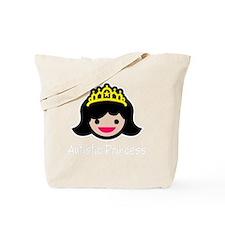 Princess -blk Tote Bag