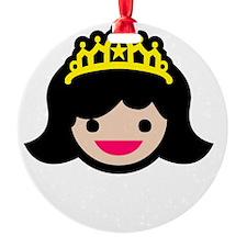 Princess -blk Ornament