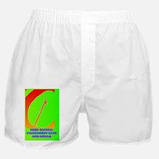 KEEP CAPITAL PUNISHMENT(button) Boxer Shorts