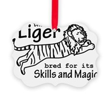 Liger (light) Ornament