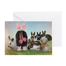 Cute Rabbit Greeting Card