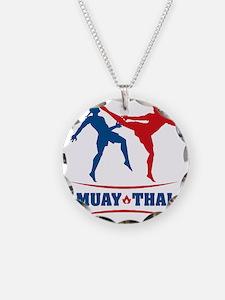 muay thai mma kickboxing mar Necklace