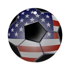 ussoccerball Round Ornament